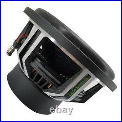 2 x Warzone 12 Inch 6000 Watt Car Audio Subwoofer with 2 Ohm DVC Power (2 Woofers)
