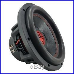 2 x Warzone 12 Inch 6000 Watt Car Audio Subwoofer with 4 Ohm DVC Power (2 Woofers)