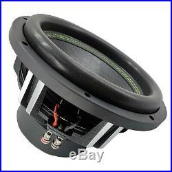 2 x Warzone 15 Inch 7000 Watt Car Audio Subwoofer with 2 Ohm DVC Power (2 15 SUB)