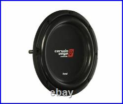 2x CERWIN VEGA HS122D 2400 Watt 12 inch Dual 2 Ohm HED Shallow Series Subwoofer