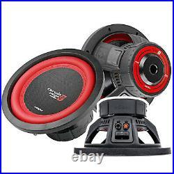 2x CERWIN VEGA V124DV2 12 2600 Watts Dual 4 Ohms Power 12 Inch Car Subwoofer