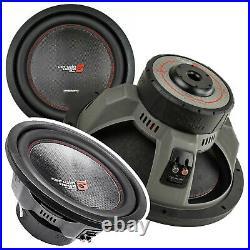 2x CERWIN VEGA VPRO152D 3600W 15 INCH Vega Pro Series Dual 2 Ohm Car Subwoofer