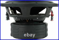 2x DS18 Z10 10 Car Subwoofer 1500 Watt Dual 4-ohm 10inch Loud Bass Sub Speaker
