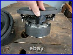 2x Sundown Audio SA-10 V2 10 1000 RMS Subwoofers Dual 2 Ohm