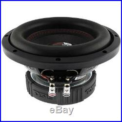 4 DS18 SLC 8S 8 Inch Subwoofer 400 Watts Max Power 4 Ohm Sub Select Series Pack