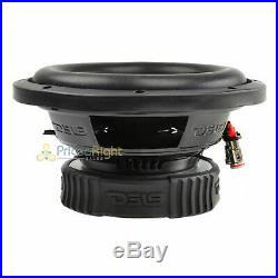 4 DS18 SLC-8S 8 Inch Subwoofer 400 Watts Max Power 4 Ohm Sub Select Series Pack
