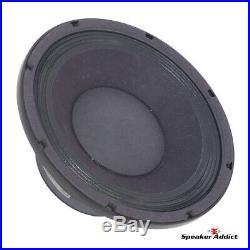 4-PACK Peavey 10 INCH 8ohm bass guitar speaker BAM-1038-MI Woofer by Eminence
