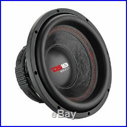 4 Pack DS18 SLC-8S 8 Inch Subwoofer 1600 Watts Max Power 4 Ohm Single Coil Bass