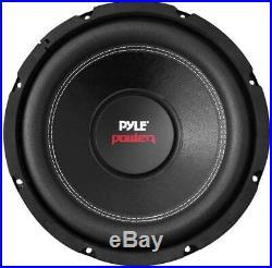 4 Pyle PLPW10D 10-Inch 4000W Subwoofer Audio Power Subs Woofers Dvc 4 Ohm Black
