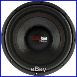 4 x 10 Inch Sub woofers 1760 Watt Power Bass 4ohm Single Voice Coil DS18 SLC-10S