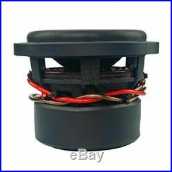 6 Inch Car Audio Subwoofer Dual Voice Coil 4 Ohm 600W Massive Hippo XL 64