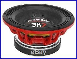 7 DRIVER 12 THUNDER3K7 Thunder 1850W 12-inch Woofer 8 Ohm Speaker 3 Day Delivery
