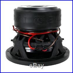 8 Inch Car Audio Subwoofer Dual Voice Coil 4 Ohm 1000W Massive Hippo 84