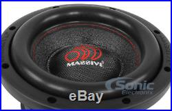 8 Inch Car Audio Subwoofer Dual Voice Coil 4 Ohm 1000 Watt RMS Massive Hippo 84