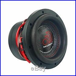 8 Inch Car Audio Subwoofer Dual Voice Coil 4 Ohm 1400W Massive Hippo XL 84
