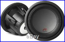 Alpine R-W12D2 12-inch 2 Ohm Subwoofer with FREE Vented Subwoofer Enclosure Box