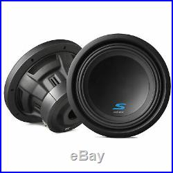Alpine S-W10D2 S-Series 10 Inch 1800 Watt Max 2 Ohm DVC Car Audio Subwoofer