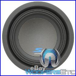 Alpine S-w8d2 8 900w Dual 2-ohm Kevlar Reinforced Subwoofer Bass Speaker New