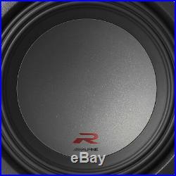 Alpine Type R 12 Inch 2250 Watt Max 2 Ohm Round Car Audio Subwoofer R-W12D2