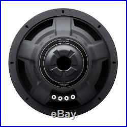 Alpine Type S SWS-12D4 12 Inch 1500W 4 Ohm Round Car Audio Subwoofer (2 Pack)