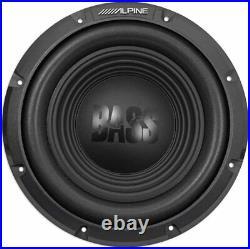 Alpine W12s4 12-inch 12 Single 4-ohm Car Audio Bass Subwoofer 750w Max