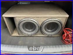Alpine X-W12D4 12 Inch 2700W Dual 4 Ohm X-series Audio Power Subwoofer Sub