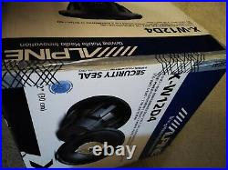 Alpine X-W12D4 12 Inch 2700W Dual 4 Ohm X-series Audio Power Subwoofer Sub (new)