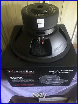 American Bass XD-1522. 15 inch subwoofer. Dual 2 Ohm. 1,000 Watts RMS