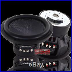 American Bass XR10 10 Inch Dual 2 Ohm 1200w RMS DVC Subwoofer