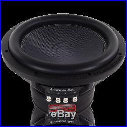 American Bass XR12 12 Inch Dual 4 Ohm 1200w RMS DVC Subwoofer