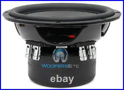 Arc Audio Arc8d4 V3 8 150w Rms Dual 4-ohm Subwoofer Bass Car Audio Speaker New