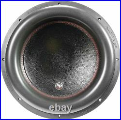 AudioPipe 15-Inch Car Audio Subwoofer Dual 2 Ohm 1400 Watts RMS