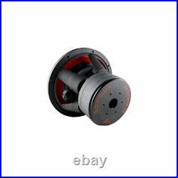 AudioPipe Dual 4 Ohm 12 inch 2,200 Watt Car Speaker Subwoofer, Black (Open Box)