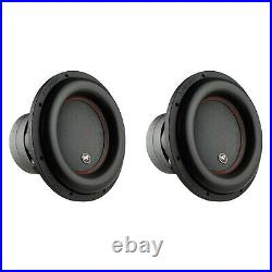 AudioPipe Sub-BDC4-12D2 12-Inch Sub Dual 2 Ohm 1100 W RMS Car Audio (2 Pack)