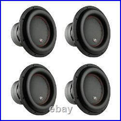 AudioPipe Sub-BDC4-12D2 12-Inch Sub Dual 2 Ohm 1100 W RMS Car Audio (4 Pack)