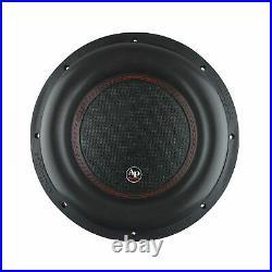 AudioPipe TXX-BDC4-12 12 Inch 2200W 4 Ohm Car Audio Subwoofer (2 Pack) & Sub Box