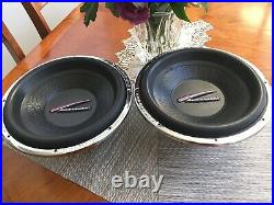 Audiobahn AW1251J 12 Inch Subwoofers 400 Watts 4 ohms Dual Voice Coil
