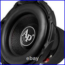 Audiopipe 10 Inch 1400W Car Audio DVC Dual 4 Ohm High Power Subwoofer (Open Box)