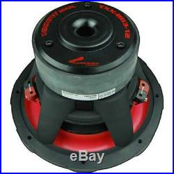 Audiopipe 12 Inch 1800W Car Audio DVC Dual 4 Ohm High Power Subwoofer (Open Box)