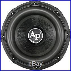 Audiopipe 12 inch Woofer Subwoofer 1500W Watt Max 4 Ohm DVC Car Audio Speaker