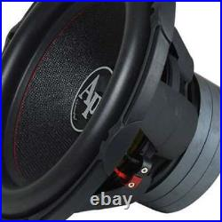 Audiopipe 15 Inch 2400W Car Audio DVC Dual 4 Ohm High Power Subwoofer (Open Box)
