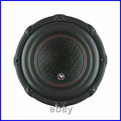 Audiopipe TXX-BD3-12 12 Inch 1800W 4 Ohm Car Audio Subwoofer (2 Pack) & Sub Box