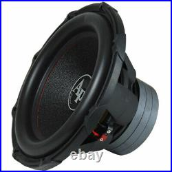 Audiopipe TXX-BD3-15 15 Inch 2400W DVC Dual 4 Ohm High Power Subwoofer (4 Pack)