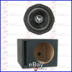 Audiopipe Txx-bd1-10 10 Dual 4-ohm Car Subwoofer 400w Rms Plus Ported Subwoofer