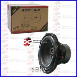 Audiopipe Txx-bd2-12 12-inch 12 Dual 4-ohm Car Audio Subwoofer 800w Rms