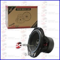 Audiopipe Txx-bd3-12 12-inch 12 Dual 4-ohm Car Audio Subwoofer 900w Rms