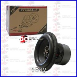Audiopipe Txx-bd4-12 12-inch 12 Dual 4-ohm Car Audio Subwoofer 1100w Rms
