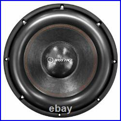 Bassface BIGRED15.5 15 Inch 38cm 3500w RMS Subwoofer 2x1Ohm Extreme SPL SQ Sub