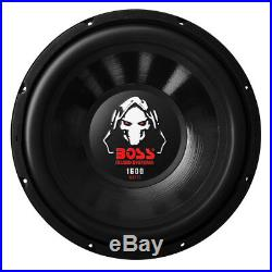 Boss Audio 12 Inch 1600 Watt 4 Ohm SVC Car Audio Power Stereo Subwoofer (4 Pack)