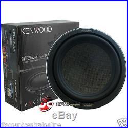 Brand New Kenwood 12-inch Single 4-ohm Shallow Mount Car Audio Sub Woofer